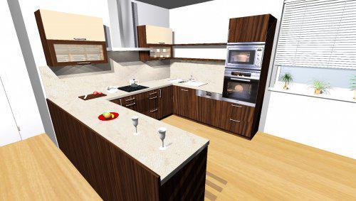 Už se to blíží... - návrh kuchyně