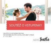 Soutěž o vstupenky na Svatební veletrh v hotelu Diplomat https://www.facebook.com/SlevoSvatba/photos/pb.301915329891493.-2207520000.1484295025./1271659606250389/?type=3&theater