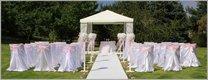 Vše pro svatbu pod širým nebem,