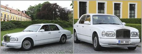 Pronájem limuzíny Rolls-Royce Silver Serap  - Obrázek č. 1