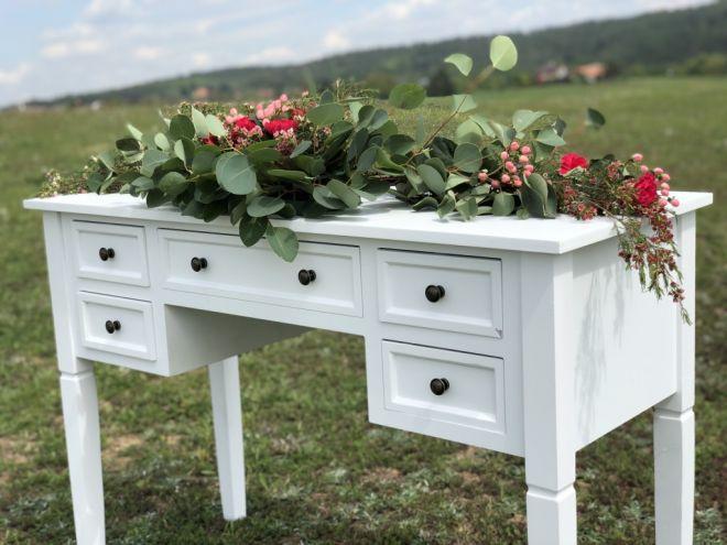 Podpisový/obřadný vintage stolek - Obrázek č. 1