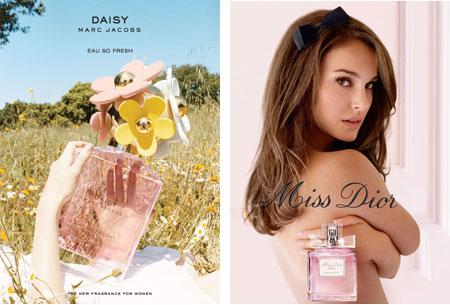 Voňavý wedding day - marc jacobs daisy & miss dior