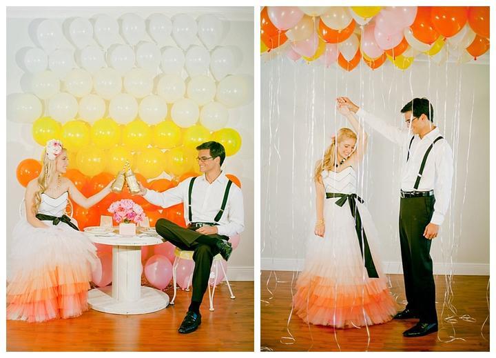 Svadba v štýle OMBRE - Obrázok č. 35