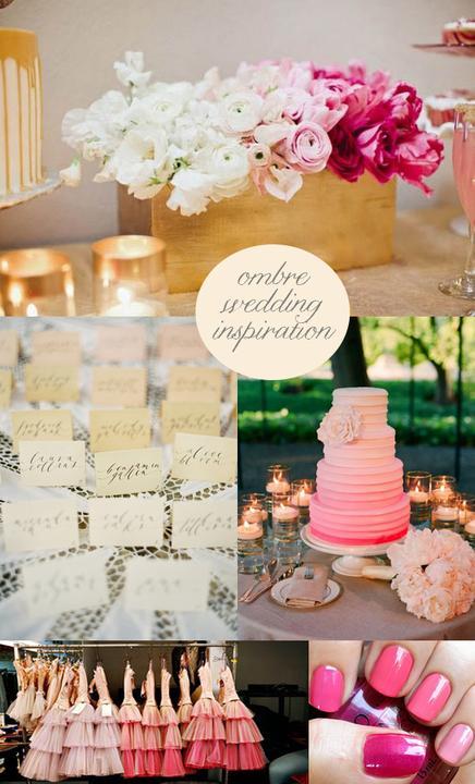 Svadba v štýle OMBRE - Obrázok č. 94