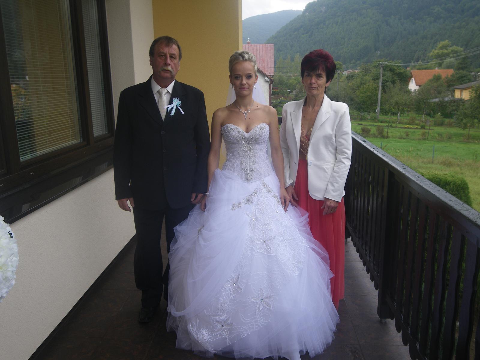Ivka Jankechová{{_AND_}}Radko Janíček - S rodičmi :)
