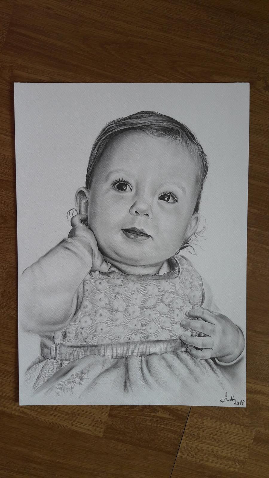 Kresby detičiek, mnou kreslené:) - Obrázok č. 1