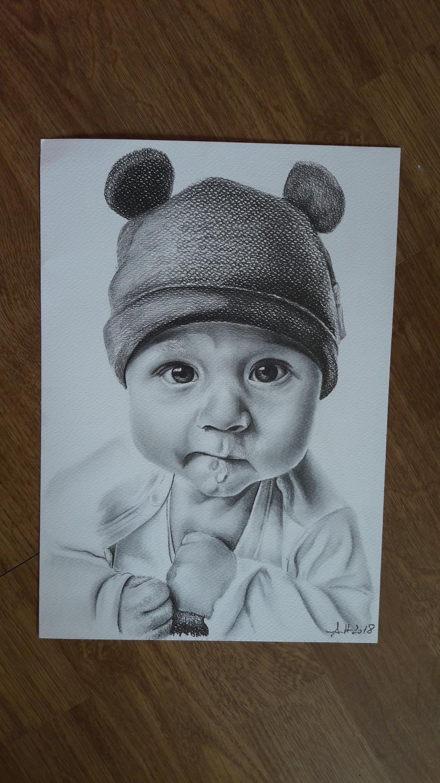 Kresby detičiek, mnou kreslené:) - Obrázok č. 3