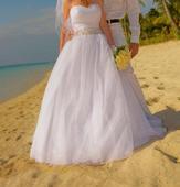 Svadobné šaty ušité na mieru (princeznovské), 38