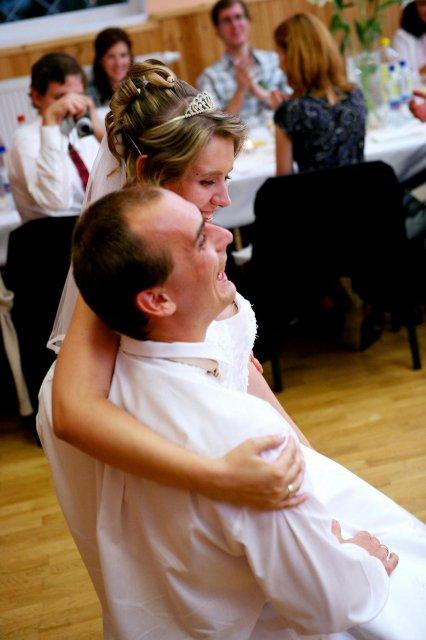 Lucia Baranová{{_AND_}}Jozef Gecler - zaverecna tanecna poza :-)