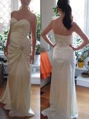 Svatební šaty zn.cindarella vel.36 krémové, 36