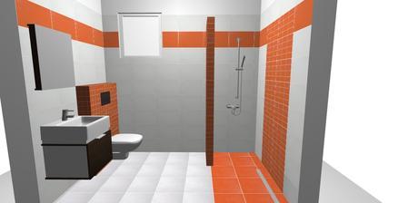 Prízemie - Návrh Sprcha