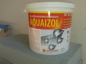 Prízemie - Sprcha Jul_20_2013 - lepenie dlažby - ARTE New Naranja -  Hydroizolácia AQUAIZOL- deň piaty