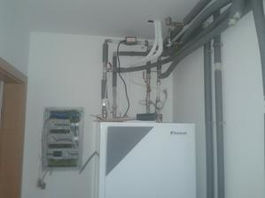 Prízemie - Technická miestnosť - HYDROBOX Daikin Altherma LT IUFSC 11/14/16 kW / 400 V /9/ + TUV