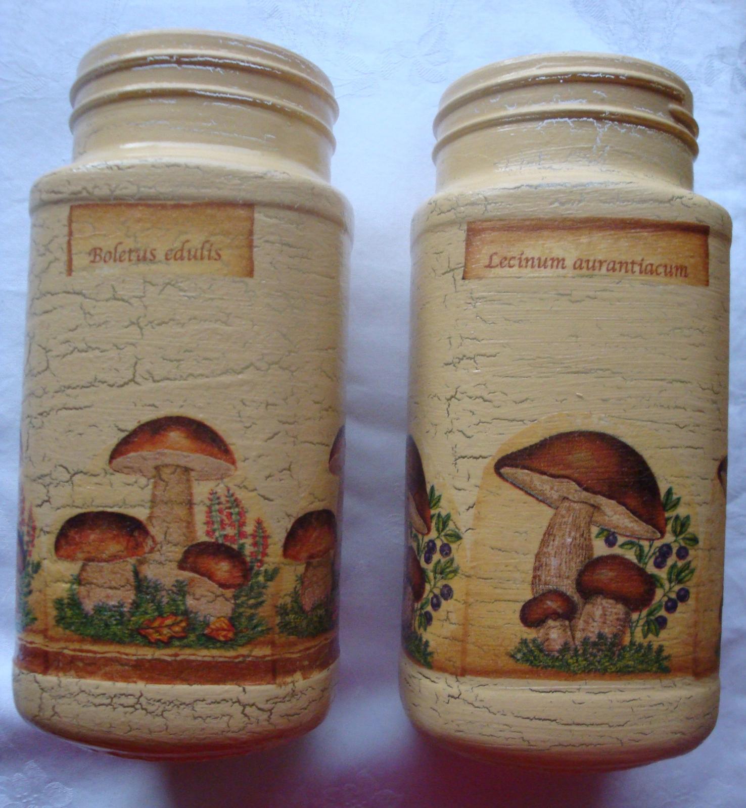 Dekoračné flašky-nádobky - Obrázok č. 2