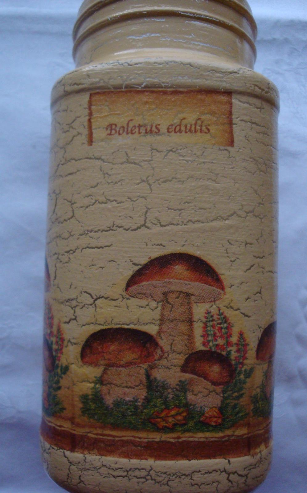 Dekoračné flašky-nádobky - Obrázok č. 4