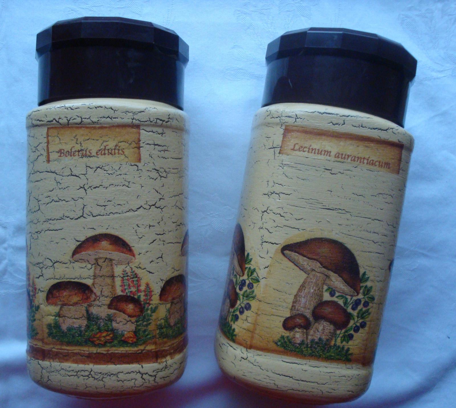 Dekoračné flašky-nádobky - Obrázok č. 1
