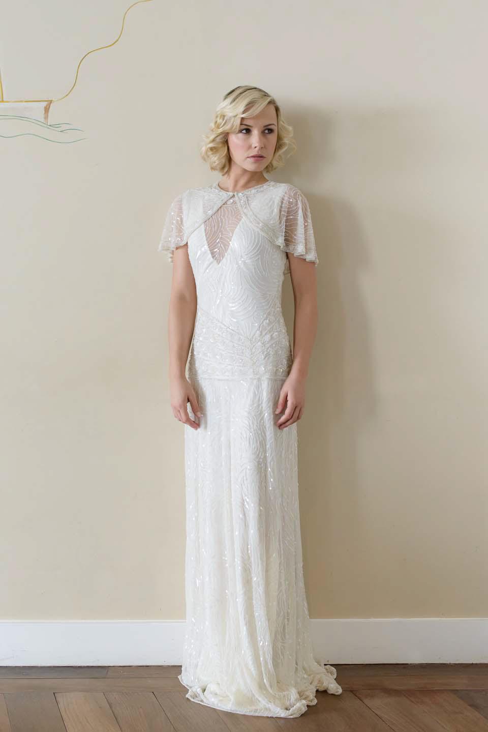 Nádherné svadobné šaty v štýle '20. rokov :) Vysnívané <3 - Obrázok č. 1