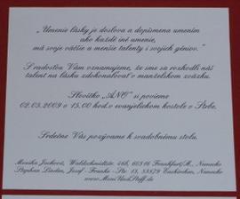 text slovensky ale boli aj bez pozvania ku svadobnemu stolu