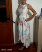 Dámske kvetinové šaty, 36