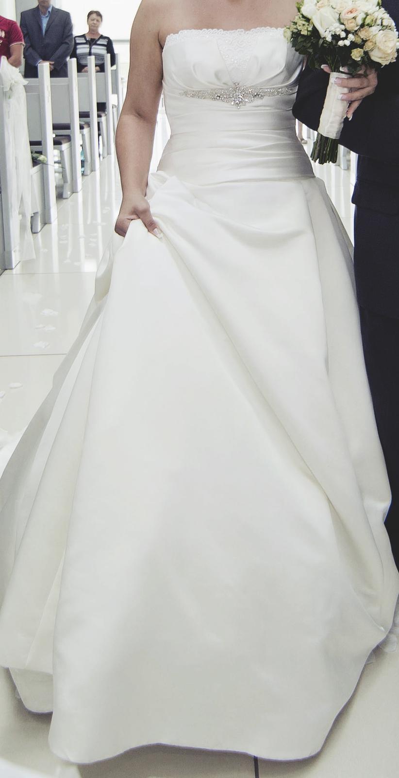 Svadobné šaty La Sposa - Obrázok č. 3