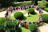 společné svatební foto