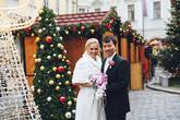 svatební focení - vánoční trhy Praha