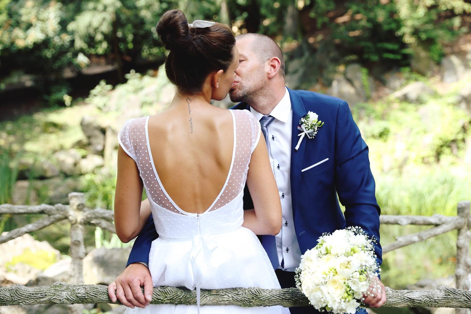 Svatební focení v Grébovce - zamilované focení novomanželů v Grébovce
