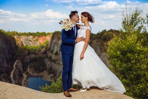 svatebni_foto_pro_vas - svatební focení na lomu Velká Amerika