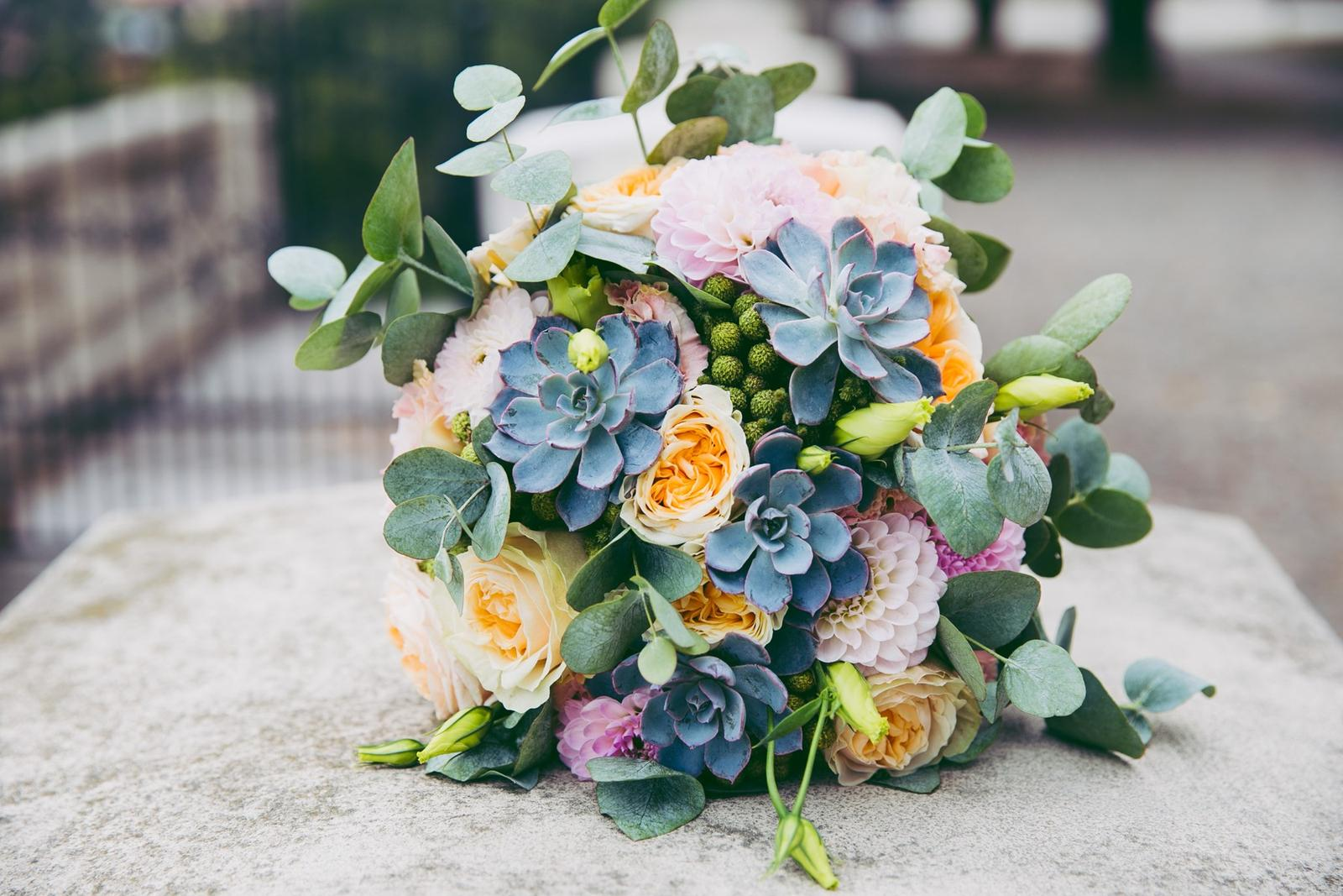 Svatební kytice - svatební kytice