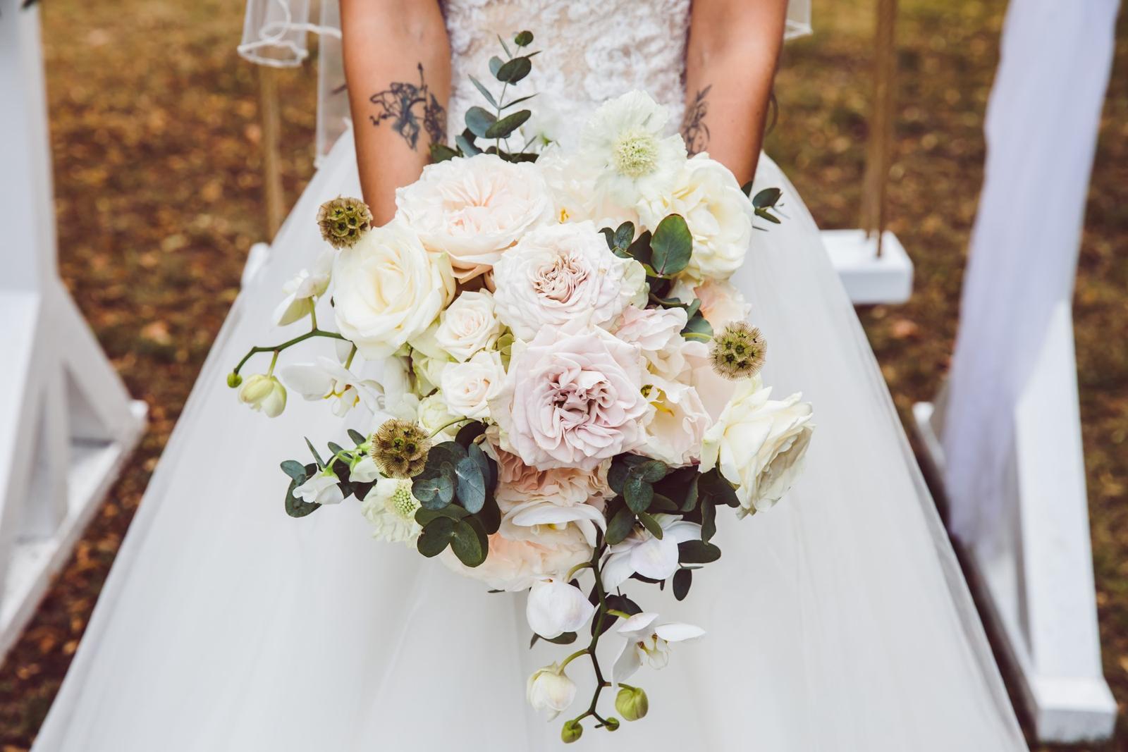 Svatební detaily - svatební kytice