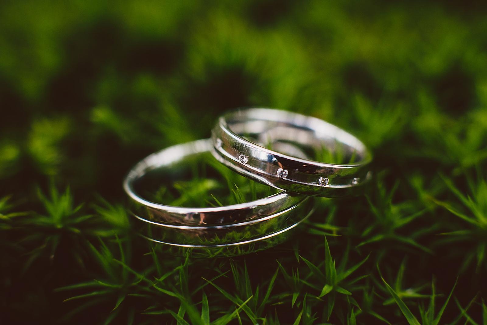 Svatební detaily - snubní prstýnky