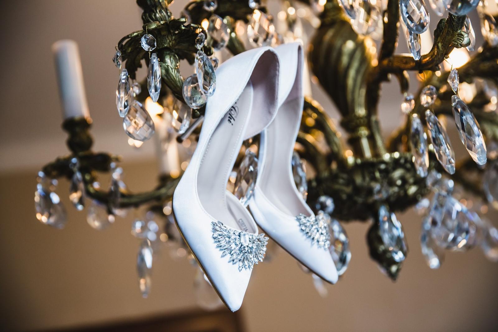 Svatební detaily - svatební lodičky nevěsty