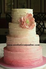 Podobný dortík bude, jen bude víc než jeden květ :-)