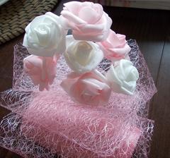 Výzdoba na stůl, ještě svíčky a mašličky budou :-)