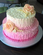 Nás svatební dortík :-)