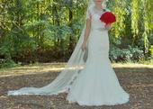 svadobné šaty č.36, 36