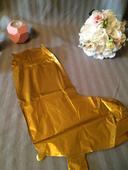 Zlatý nápis Love - balonky,