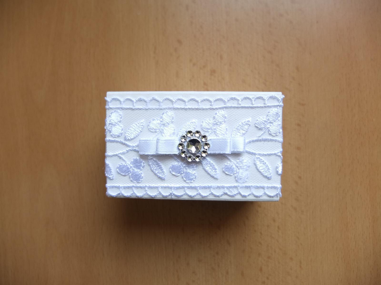 ♥ Prípravy v plnom prúde ♥ - Krabičky na prstene ... handmade by mamina