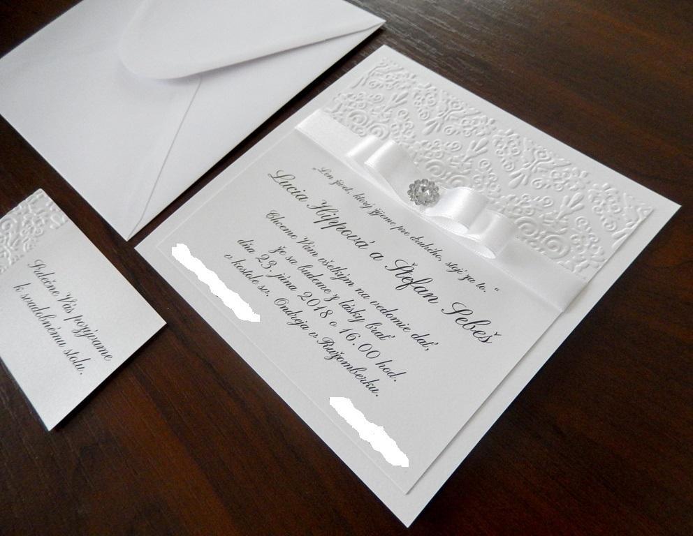 ♥ Prípravy v plnom prúde ♥ - Naše svadobné oznámenia a pozvánky k stolu