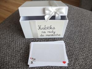 Krabička na rady do manželstva