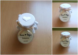 Darčeky pre svadobných hostí (pečený čaj) ... PO