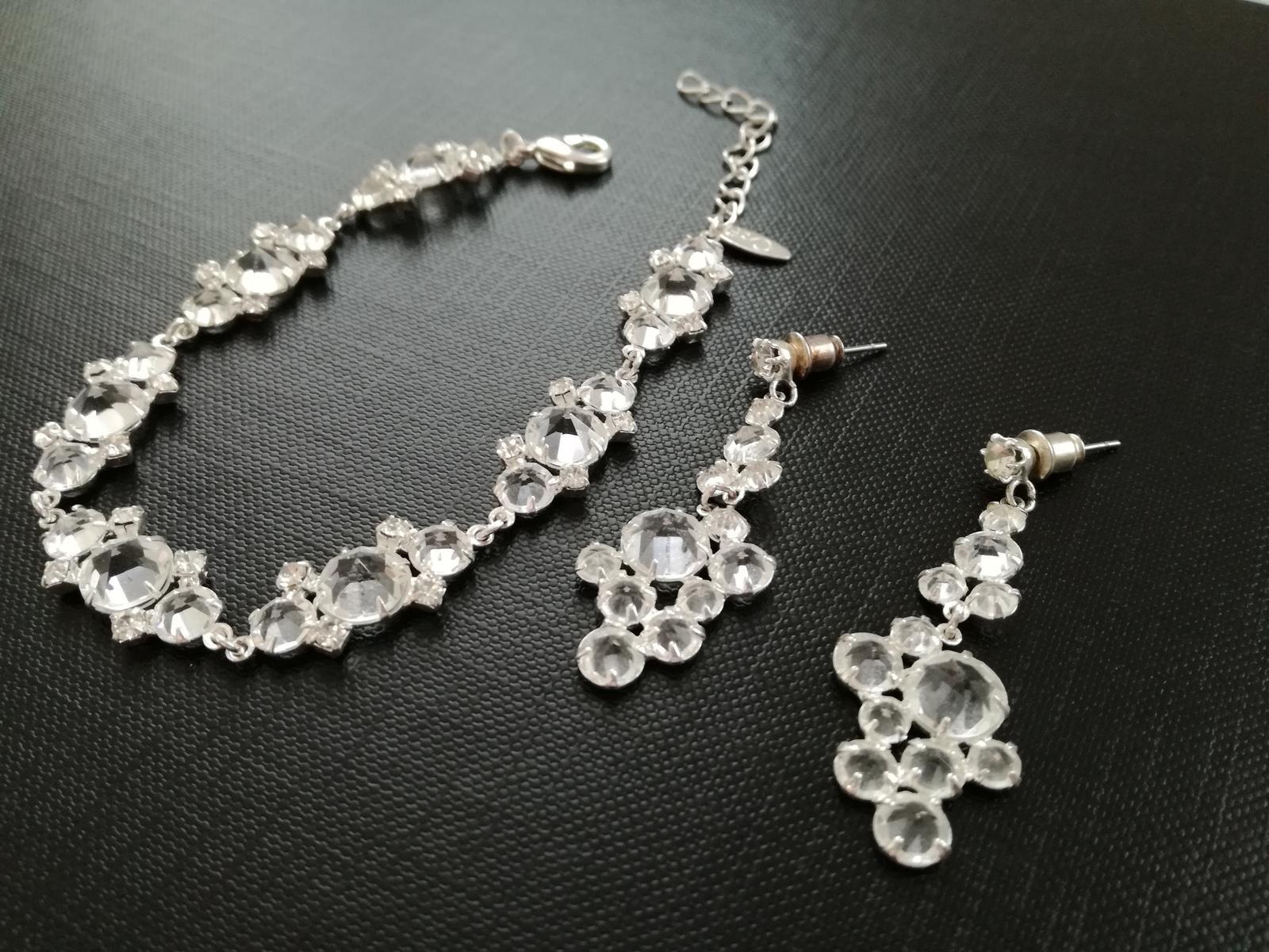 Sada šperků – náramek + náušnice - Obrázek č. 1