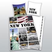 Dětské povlečení - NEW YORK - VLAJKA,