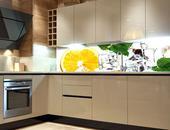 Samolepicí fototapeta do kuchyně - CITRÓN A LED,