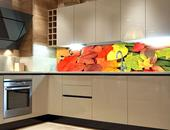 Samolepicí fototapeta do kuchyně - LISTY,