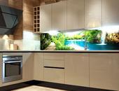 Samolepicí fototapeta do kuchyně - RELAX V LESE,