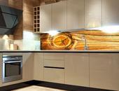 Samolepicí fototapeta do kuchyně - SUK VE DŘEVĚ,
