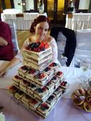 4patrový podnos na dort,