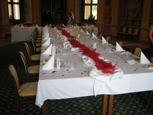 výzdoba stolu v Liblicích