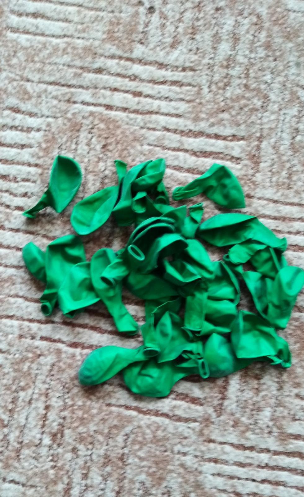 Zelené balonky - Obrázek č. 1